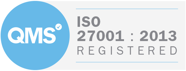 Iso 27001 2013 Badge White